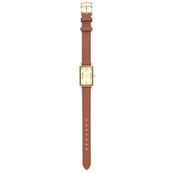 腕時計 抗菌ベルトウォッチA ブラウン