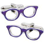 SWANK(スワンク) 日本製 眼鏡のカフス 紫
