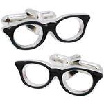 SWANK(スワンク) 日本製 眼鏡のカフス 黒