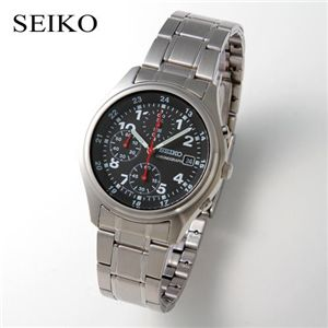 SEIKO メンズ クロノグラフ SND225PC - 拡大画像