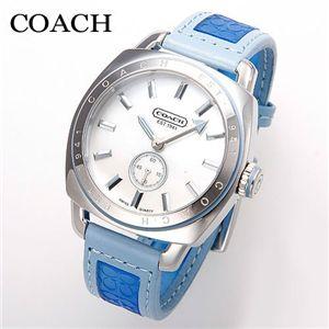 COACH(コーチ) Ali Sport Strap ウォッチ 14500951・ブルー - 拡大画像