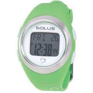 SOLUS(ソーラス) 800  心拍時計 グリーン(バタフライ) 【ランニングウォッチ】 - 拡大画像