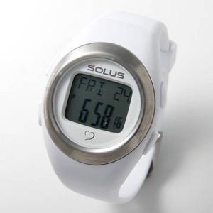 SOLUS(ソーラス)ハートレートウォッチ 心拍計測 01-800-202/ホワイト - 拡大画像