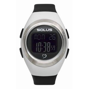 SOLUS(ソーラス) ハートレートウォッチ 心拍計測 01-800-205/ホワイト×ブラック - 拡大画像