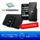 ワイヤレス充電器「GETPOWERPAD3(ゲットパワーパッド3)」 スターターキット iPhone4/4S専用レシーバーセット(マットブラック) - 縮小画像1