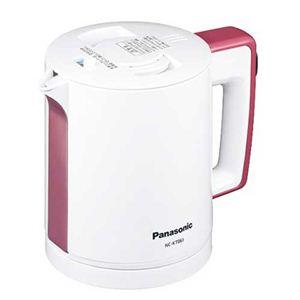 Panasonic(パナソニック) 0.6L 電気ケトル NC-KT061 ピンク - 拡大画像
