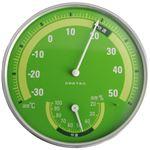 dretec(ドリテック) 温湿度計 O-310GN グリーン