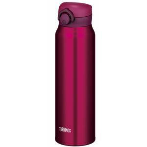 真空断熱ケータイマグ/水筒 【750ml】 ワインレッド 大容量 超軽量 直飲み 保温・保冷両対応 『THERMOS サーモス』 - 拡大画像