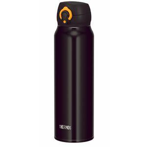 真空断熱ケータイマグ/水筒 【750ml】 ブラックイエロー 大容量 超軽量 直飲み 保温保冷対応 『THERMOS サーモス』 - 拡大画像