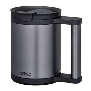 THERMOS 真空断熱マグ0.28L JCP-280C-BK ブラック - 拡大画像