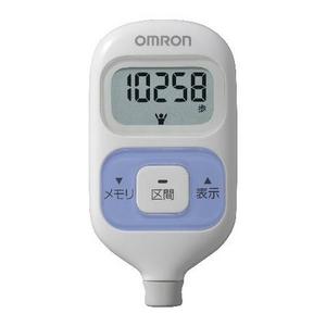 OMRON(オムロン) 歩数計 ウォーキングスタイル HJ-203-V - 拡大画像