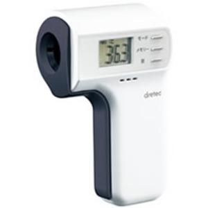 ドリテック(dretec)非接触赤外線体温計 TO-400 - 拡大画像