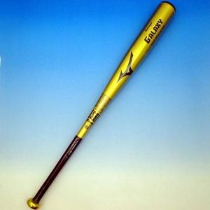 09年後期モデル♪ MIZUNO(ミズノ) 軟式バット 『ビューリーグ ギャラクシー』 ゴールド ミドルバランス 82cm×平均700g 2tr-45220-50 ゴールド(50) 82cm×700g ゴールド(50) 82cm×700g - 拡大画像