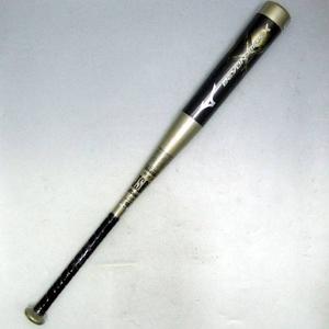 MIZUNO(ミズノ) 軟式バット 『BEYOND MAX X(ビヨンドマックスクロス)』 カーボン製 85cm×750g平均 ゴールド(50) - 拡大画像