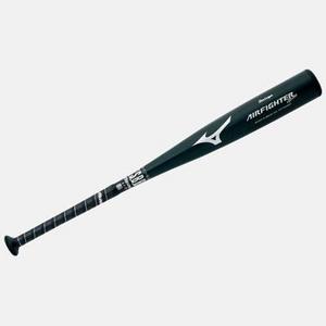 MIZUNO(ミズノ) 軟式少年用バット Buw League 『AIR FIGHTER』 78cm ブラック ブラック(09) 78cm×580g平均 - 拡大画像