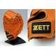ZETT(ゼット) スタンダートバックが新しい!! プロステイタス硬式キャッチャーミット オレンジ - 縮小画像2