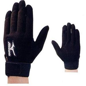 MIZUNO(ミズノ) トレーニングやアップに 一般用フリース素材手袋 両手用 S(22〜23cm) - 拡大画像