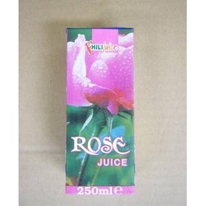 ローズジュース 250ml×18個セット - 拡大画像