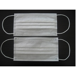 【BFE99%以上】米国ネルソン研究所認定の3層不織布マスク「EARLOOP」300枚入り  border=