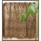 ヒョウ柄遮光カーテン 幅100cm×丈178cm 2枚組 - 縮小画像6