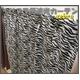 ゼブラ柄遮光カーテン 幅100cm×丈178cm 2枚組 - 縮小画像1
