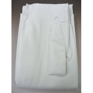 防音カーテン ホワイト 幅100cm×丈185cm 2枚組 - 拡大画像