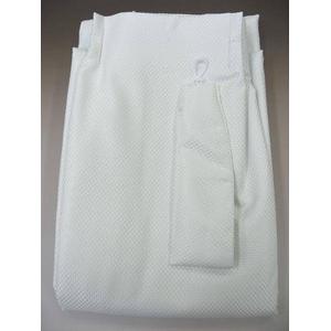 防音カーテン ホワイト 幅150cm×丈230cm2枚組 - 拡大画像