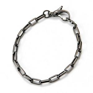 LION HEART(ライオンハート) basis/Chain Bracelet/ブレスレット 【シルバー925 ブラックコーティング】 - 拡大画像