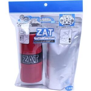 ZAT抗菌クラスターゲル 3個  +  自然式拡散器セット レッド - 拡大画像
