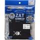 ZAT抗菌デザインマスク + 抗菌コットン×12個セット 【大人用】ドクロ/黒 - 縮小画像1