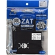 ZAT抗菌デザインマスク + 抗菌コットン×12個セット 【子供用】ドクロ/黒 - 縮小画像1