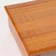 玄関踏み台/ステップ台【大】 木製 段差(高さ)調節機能付き 幅90cm - 縮小画像3