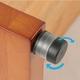 玄関踏み台/ステップ台【大】 木製 段差(高さ)調節機能付き 幅90cm - 縮小画像6