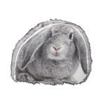 アニマル柄クッション/インテリア雑貨 【ウサギ】 ANI-401A