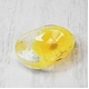 アクリル製ソープディッシュ/石鹸置き 【ひまわり柄】 造花 - 縮小画像1