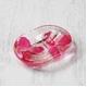 アクリル製ソープディッシュ/石鹸置き 【ピンクオーキッド】 造花 - 縮小画像1