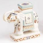 インド象の置物 象プランター台  L-008