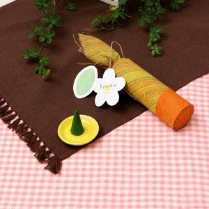 お香/インセンス 【フランジパニの香り コーンタイプ10個入り】 バリ島製 「Jupen Bari/ジュプンバリ」 - 拡大画像