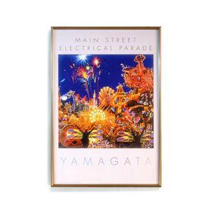 風景専門店あゆわら 《絵画》ヒロ・ヤマガタポスター額 エレクトリカルパレード - 拡大画像