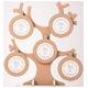風景専門店あゆわら 木製ツリーラウンド フォトフレーム 5ウィンドー NATURAL - 縮小画像1
