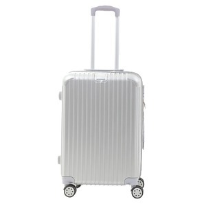 Sunruck スーツケース Mサイズ TSAロック付き 55L SR-BLT028-SV シルバー - 拡大画像