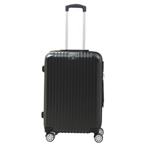 Sunruck スーツケース Mサイズ TSAロック付き 55L SR-BLT028-BK ブラック - 拡大画像
