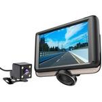 MotionTech ドライブレコーダー 360度 カメラ 前後カメラ 本体 全方位録画 前後2カメラ 4.5インチ タッチパネル 常時録画 駐車監視 ドラレコ MT-DR08K