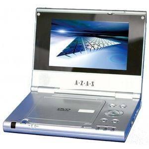 AZAS ポータブルDVDプレーヤー GP-7800 7型ワイド液晶付き 2電源対応 - 拡大画像