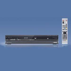 DXブロードテック 250GB HDD搭載 DVDレコーダー DXRS250 地上デジタル放送ハイビジョンチューナー内蔵 - 拡大画像
