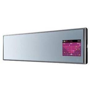 YUPITERU(ユピテル) ミラータイプGPSレーダー探知機 Supercat MR986si 2.4インチ液晶搭載 (ハーフミラータイプ) - 拡大画像
