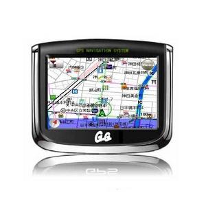GPSポータブルナビゲーション GN-350P4 ポータブルで持ちはこび自由のカーナビ  - 拡大画像