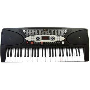 SunRuck(サンルック) PlayTouchFlaSh54 発光キー 電子ピアノ SR-DP01 ブラック - 拡大画像