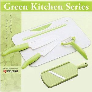 KYOCERA(京セラ) ファインセラミックスキッチン用品 セラミック包丁5点セット - 拡大画像