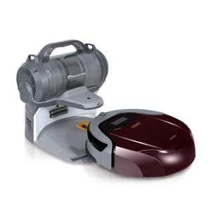 d79 ロボット掃除機 ハンディ掃除機 二つの機能を持ち合わせた3Dクリーニングロボット掃除機 - 拡大画像